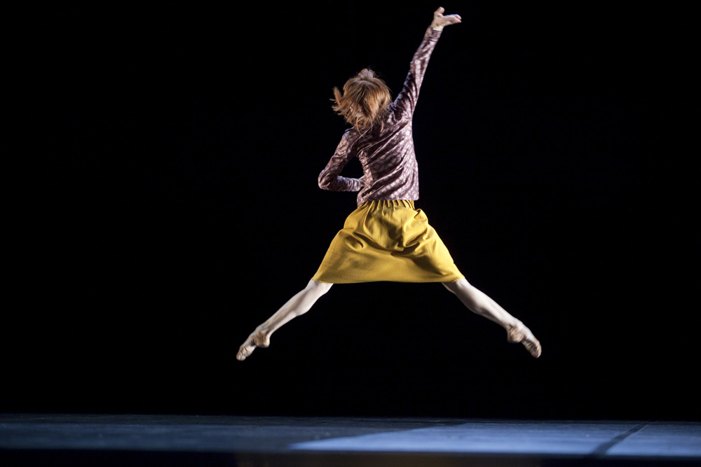 Bye, solo choreographed by Mats Ek for Sylvie Guillem 2010