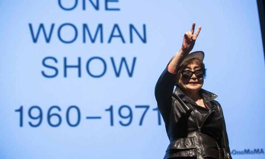 Η Yoko Ono στο Μουσείο Μοντέρνας Τέχνης της Νέας Υόρκης