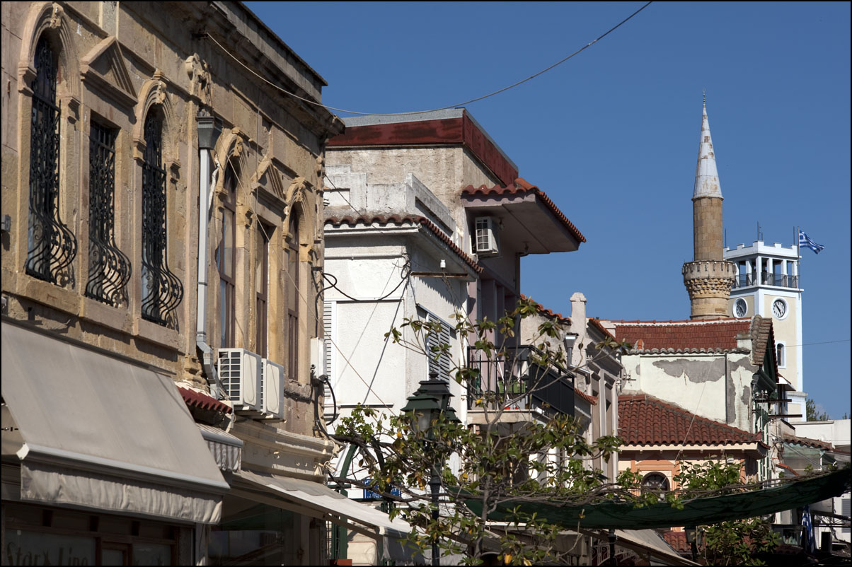 20090423_Komotini_Greece_Yeni_mosque_clocktower