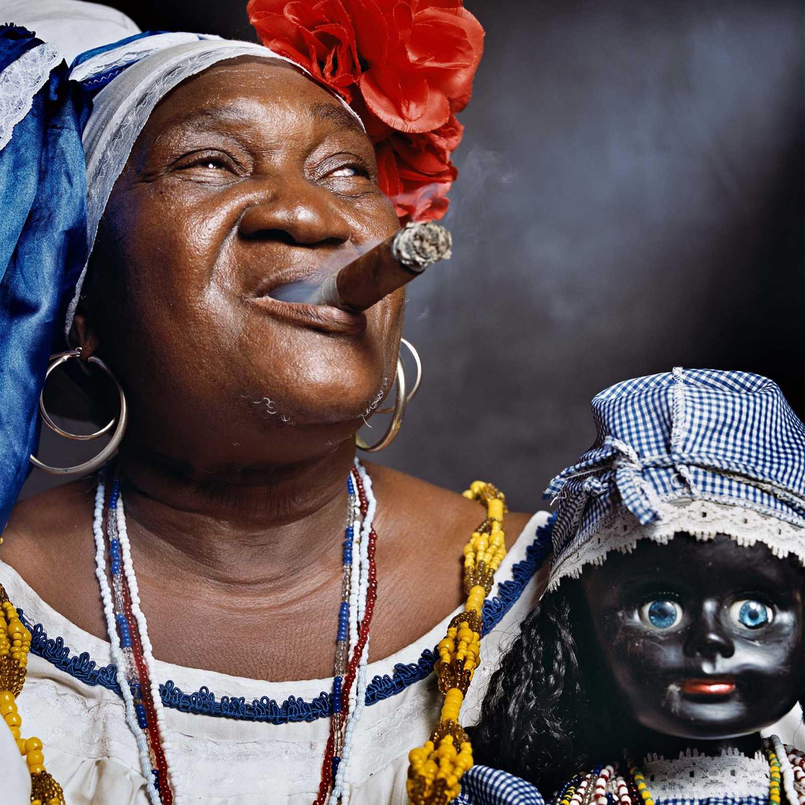 """Juana Rios Rios, """"Juana de Cubana"""", Fortune Teller 2012"""