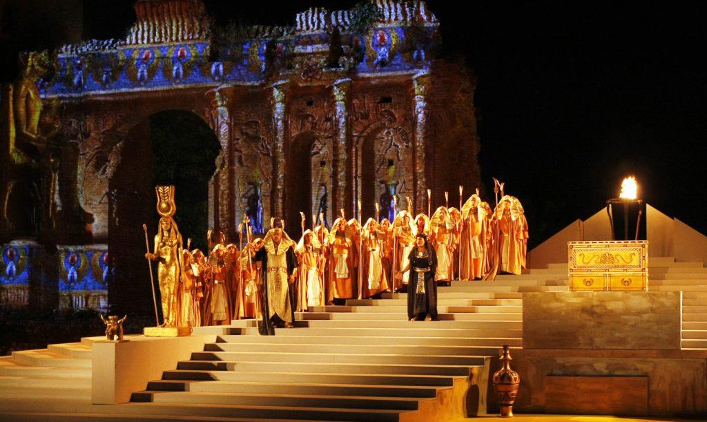 «Αΐντα» σε σκηνοθεσία Ενρίκο Καστιλιόνε