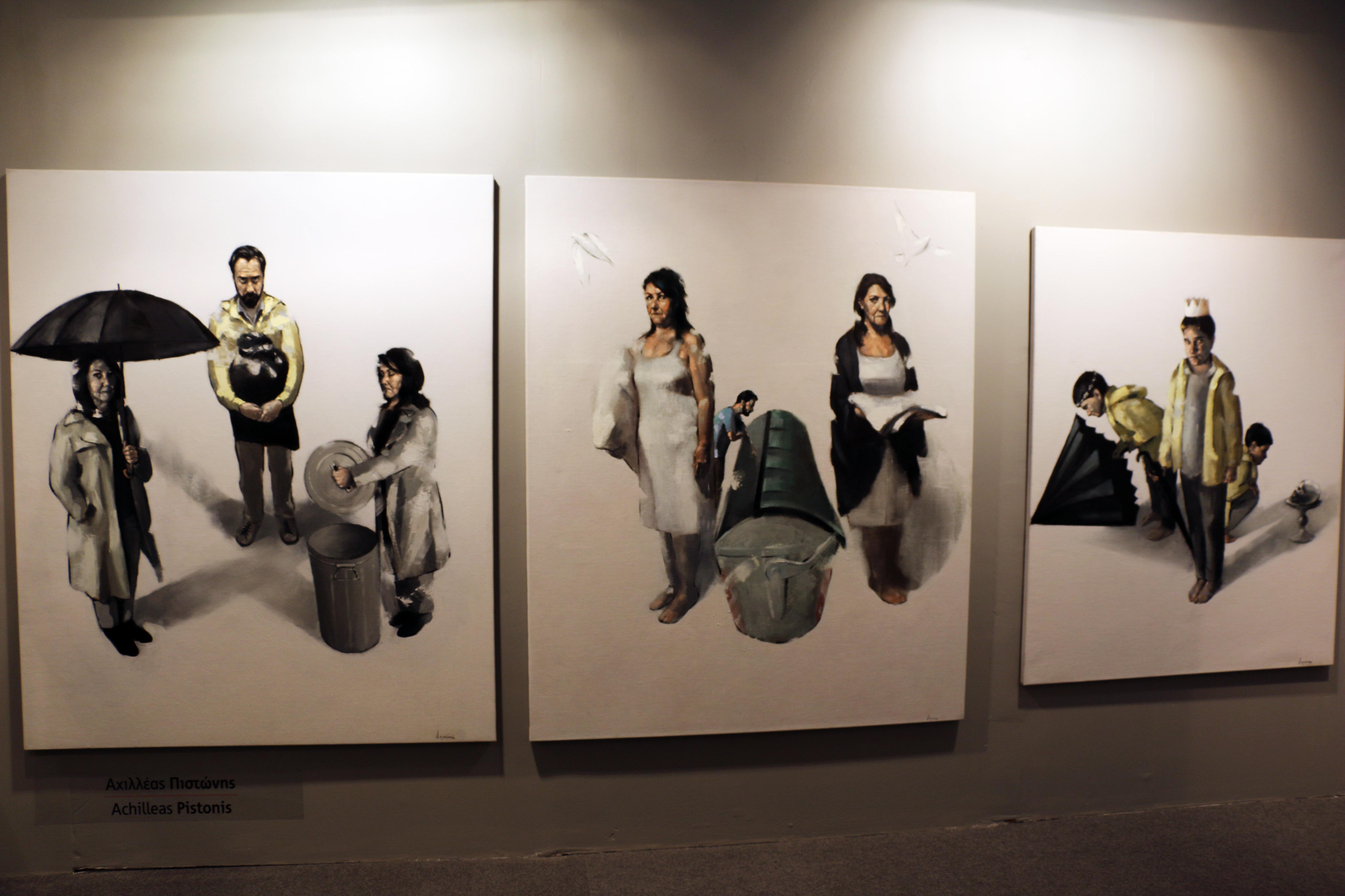 Kaplanon5 αίθουσα τέχνης - © Δανάη Κωτσάκη