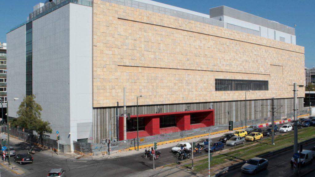 Το νέο κτήριο του Εθνικού Μουσείου Σύγχρονης Τέχνης