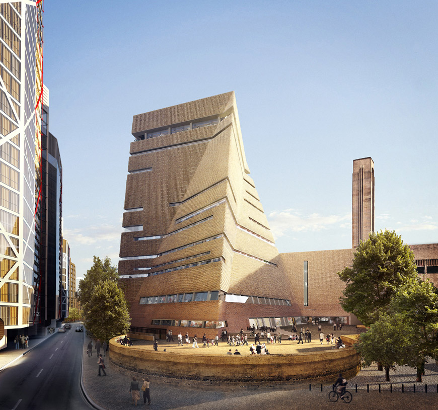 Η νέα πτέρυγα της Tate Modern, Switch House ©Inexhibit