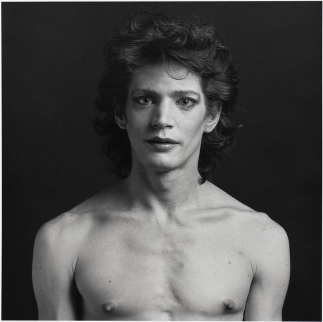 Robert Mapplethorpe, (Self-portrait as Cross-dresser), 1980