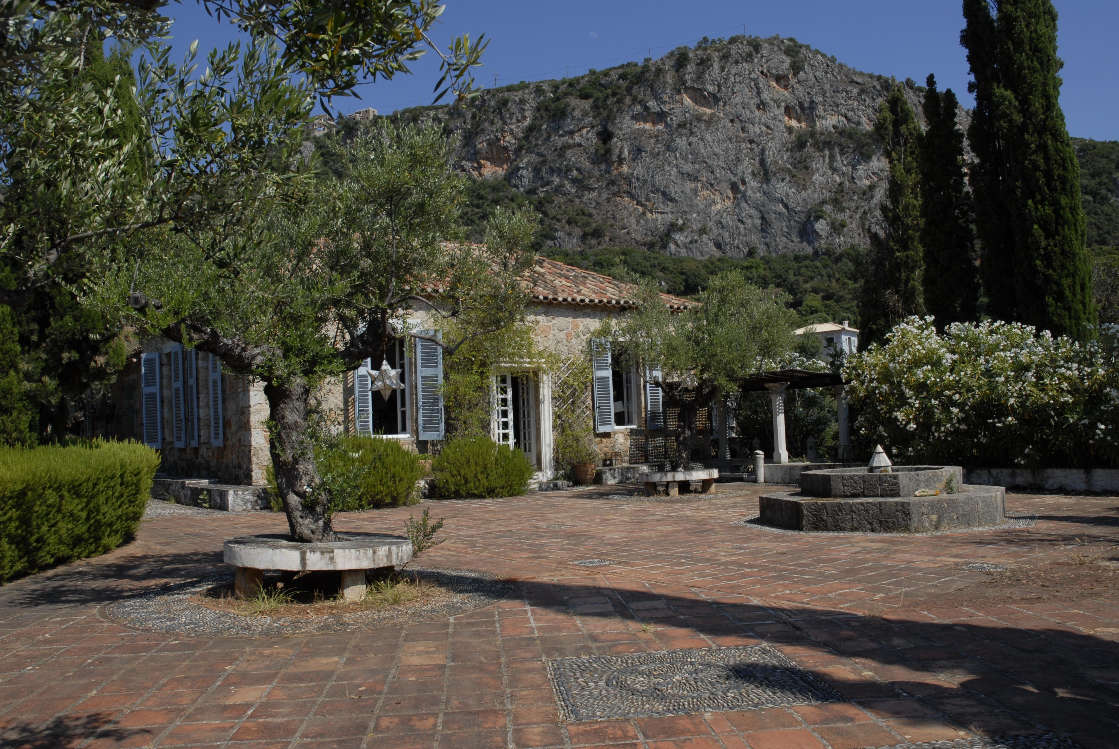 Η οικία του Patrick & της Joan Leigh Fermor στην Καρδαμύλη