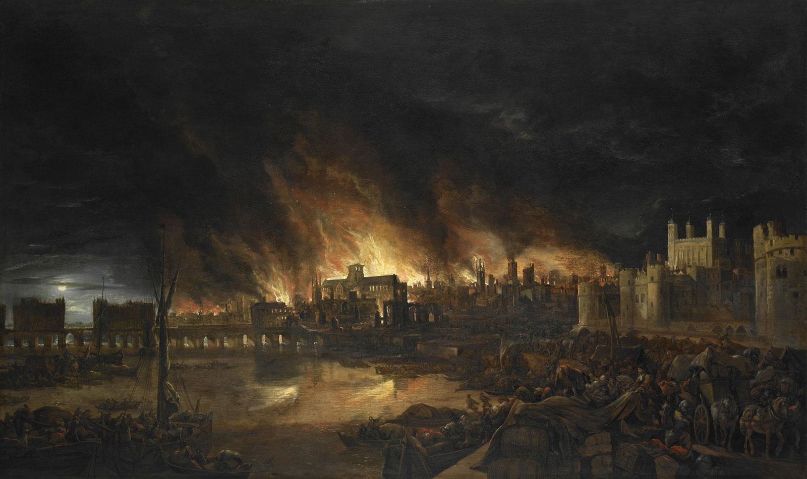 """""""Fire! Fire!"""", Museum of London"""