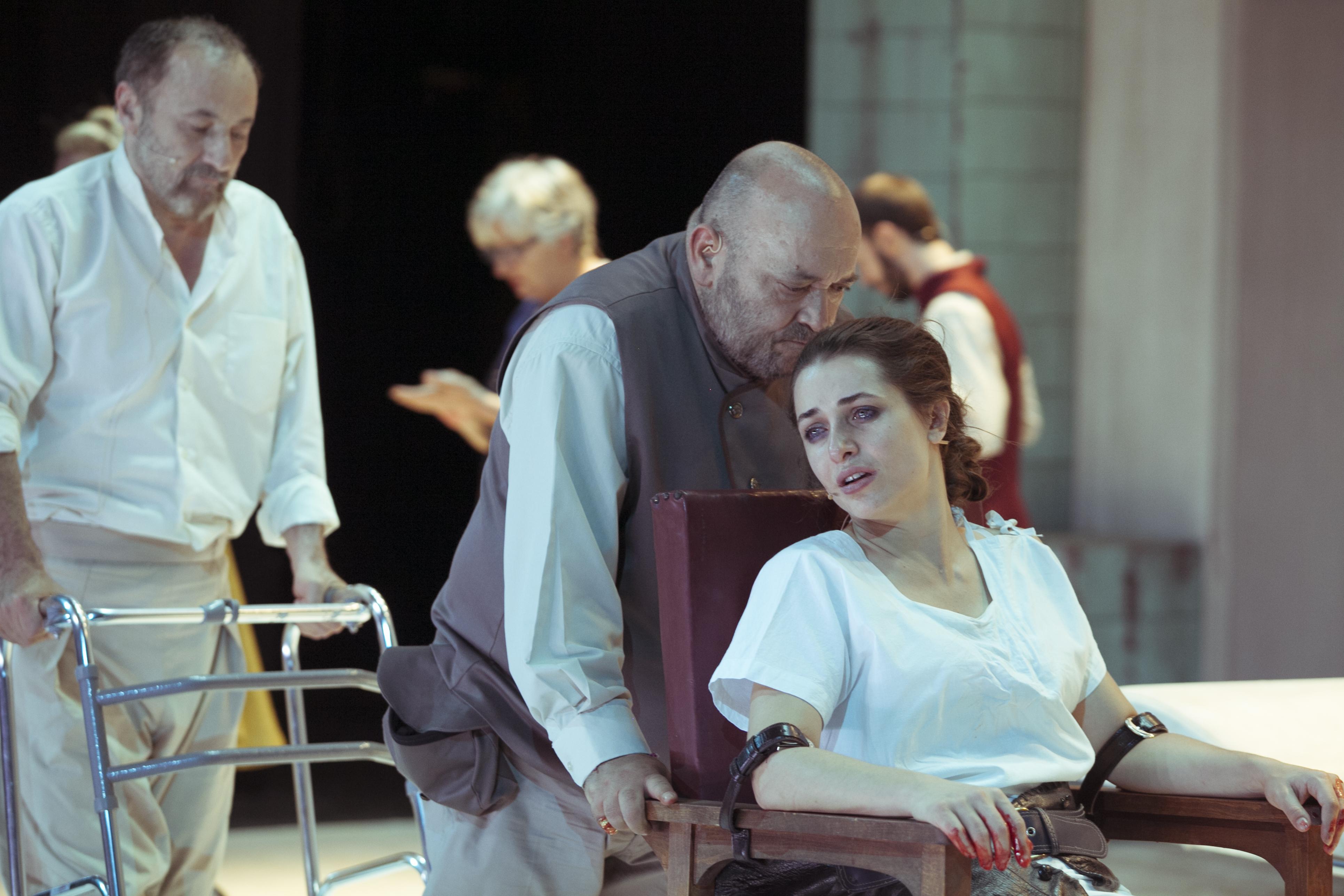 Φεστιβάλ Αθηνών: «Αντιγόνη» του Ζακ Ανούιγ, σε σκηνοθεσία Ελένης Ευθυμίου © Αθηνά Λιάσκου