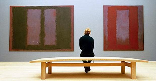 Τα έργα του Ρόθκο για το Four Seasons στην Tate, © David Sillitoe