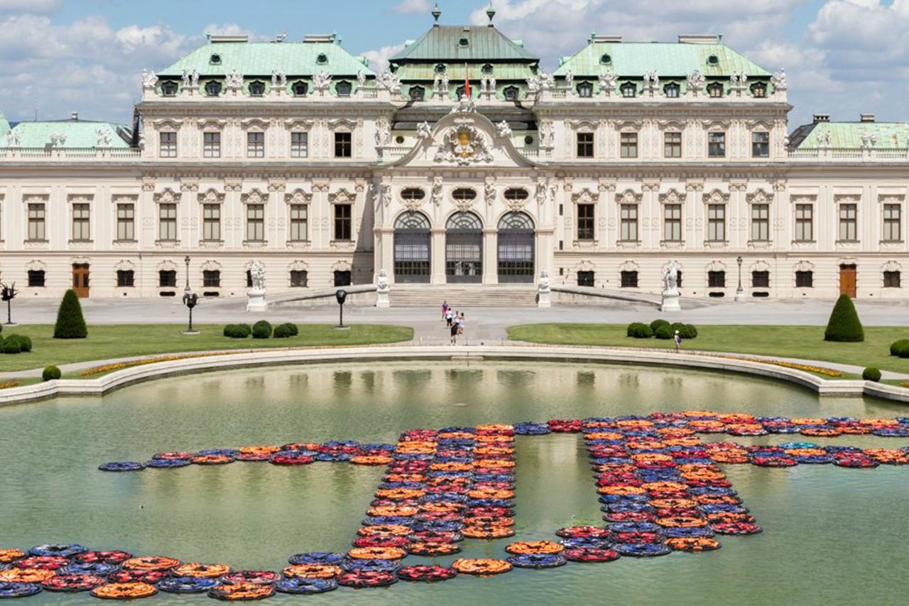Η εγκατάσταση του Ai-Weiwei F-Lotus στην Βιέννη