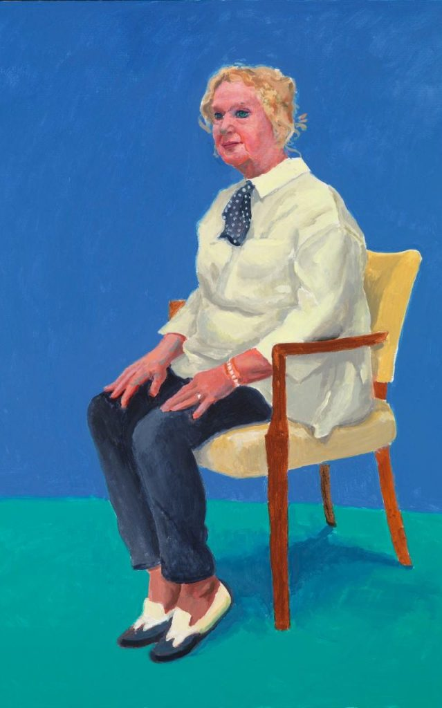 Celia Birtwell, 31 August - 4 September by David Hockney, 2015 ©David Hockney/Richard Schmidt
