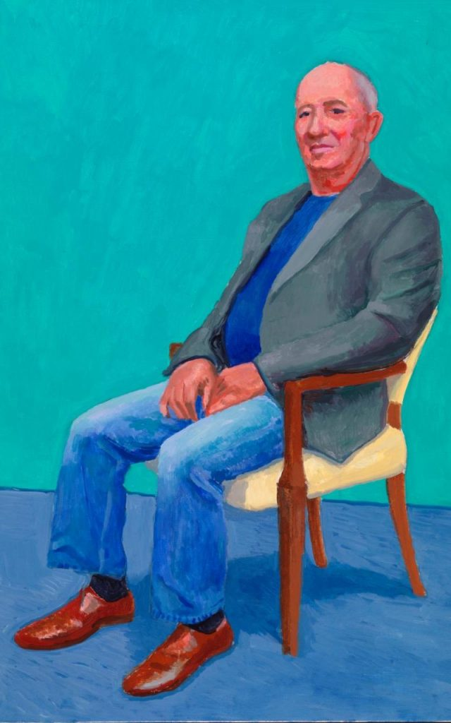 David Juda, 22-25 March, by David Hockney, 2015 ©David Hockney/Richard Schmidt