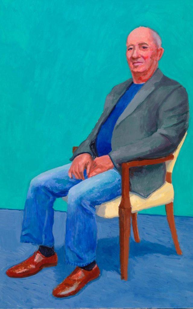 David Juda, 22-25 March, by David Hockney, 2015 ©David Hockney/Richard Schmidt