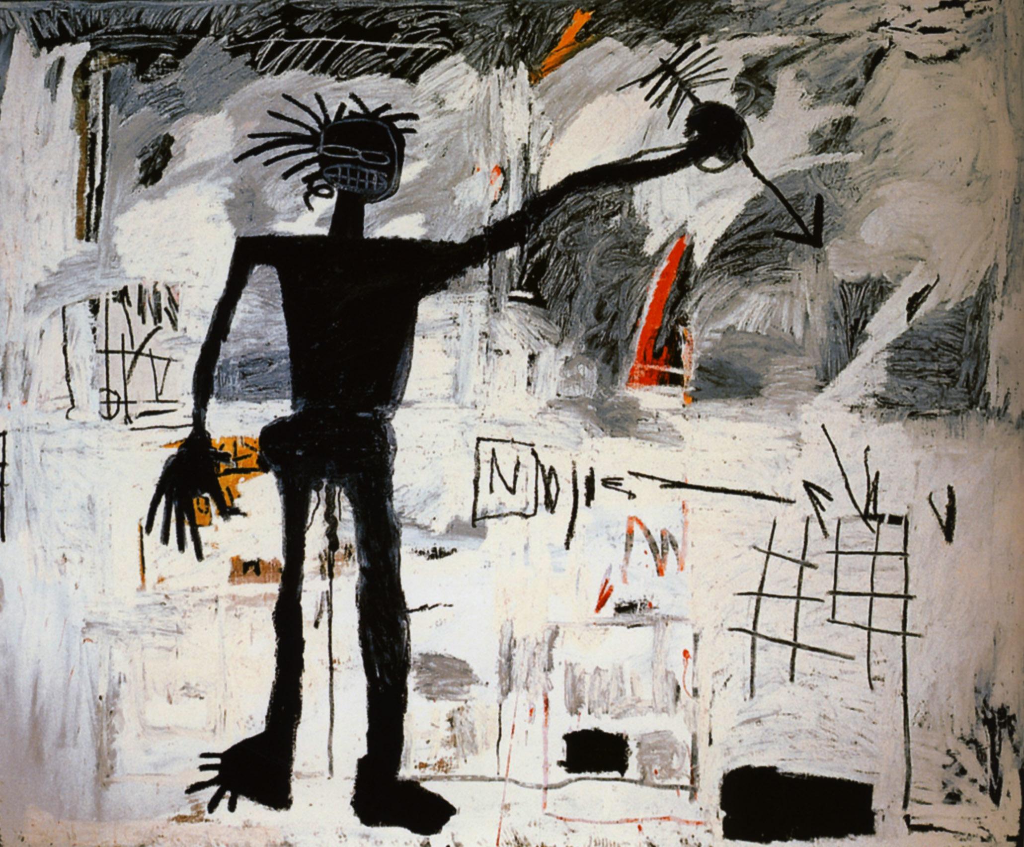 Jean Michel Basquiat – Self portrait, 1982