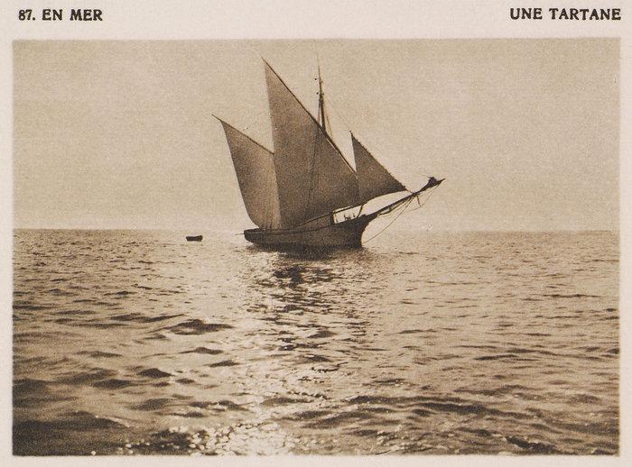 Πλοιάριο (ταρτάνα) στα ανοιχτά του Αιγαίου Πελάγους