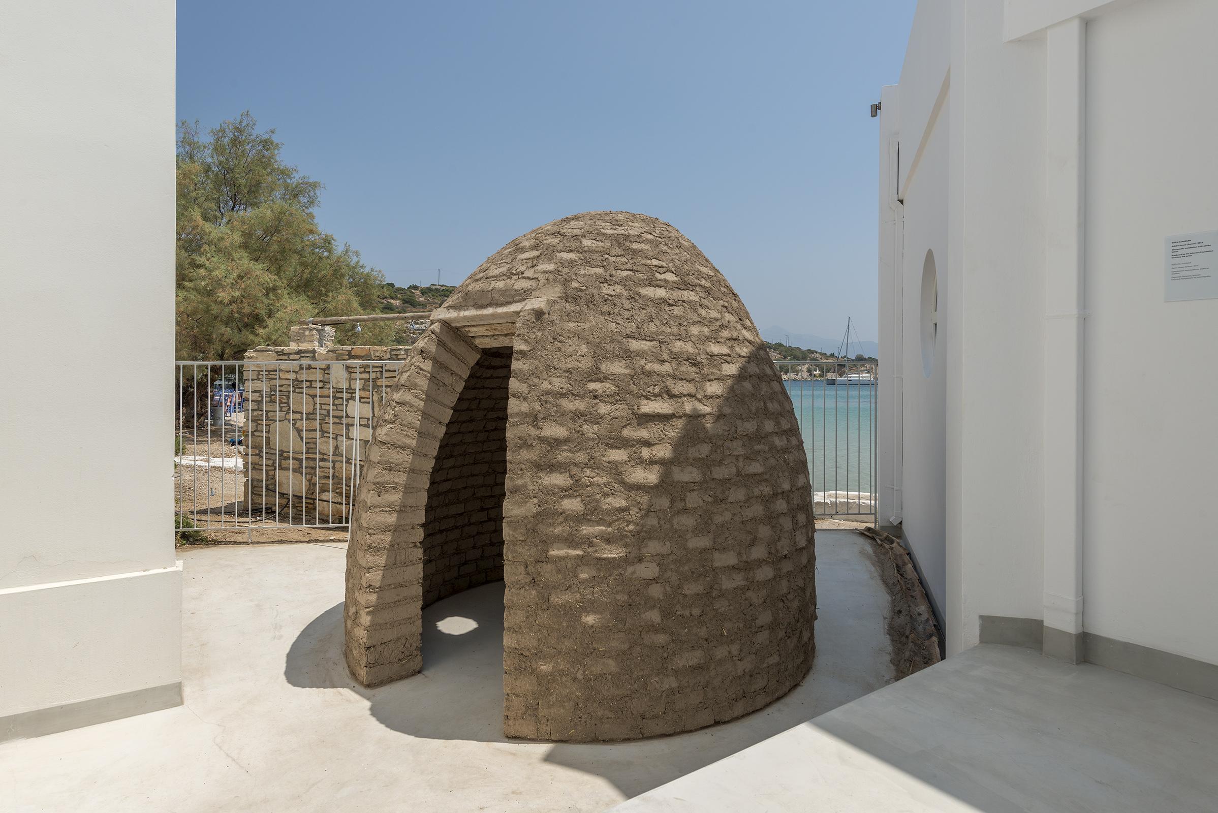 Πλίνθινη κατασκευή της Ρόζα ελ Χασάν