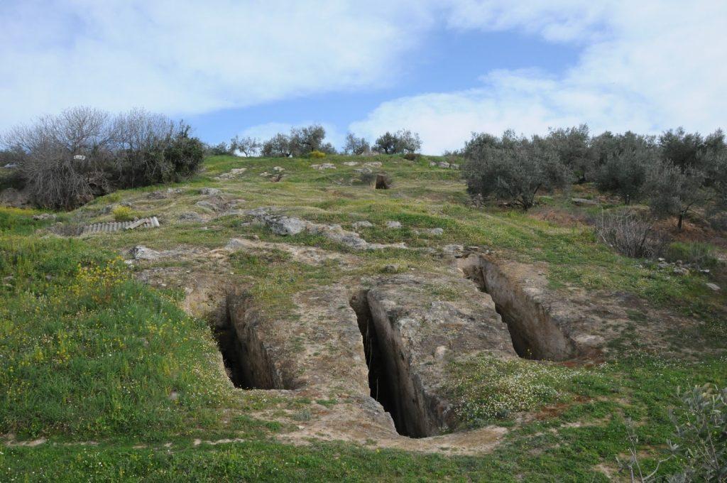Μυκηναϊκό νεκροταφείο των Αηδονίων ©Όριον