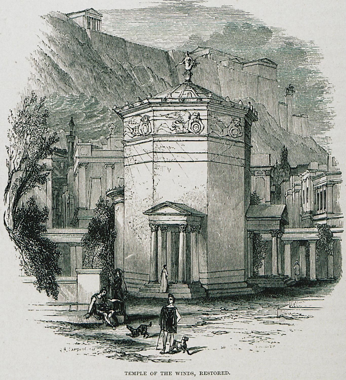 Φανταστική απεικόνιση των Αέρηδων, Λονδίνο, John Murray, 1882