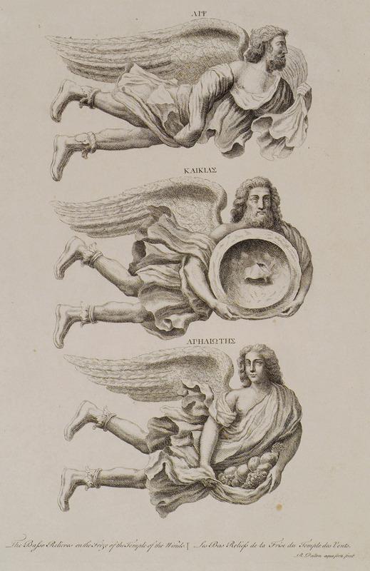 Αρχαιότητες και απόψεις στην Ελλάδα και την Αίγυπτο - Λονδίνο, 1751-1752