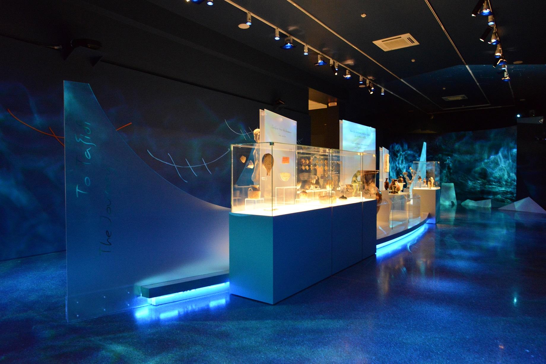 Θεματικό άξονας «Το ταξίδι», έκθεση «Οδύσσειες», Εθνικό Αρχαιολογικό Μουσείο