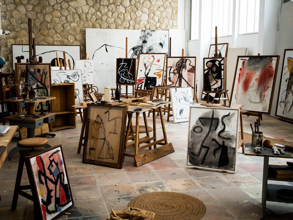 Το στούντιο του Χοάν Μιρό στη Μαγιόρκα