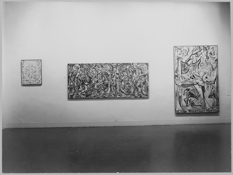 Jackson Pollock, December 19, 1956–February 3, 1957