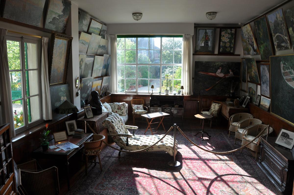 Το στούντιο του Κλοντ Μονέ στο Ζιβερνί