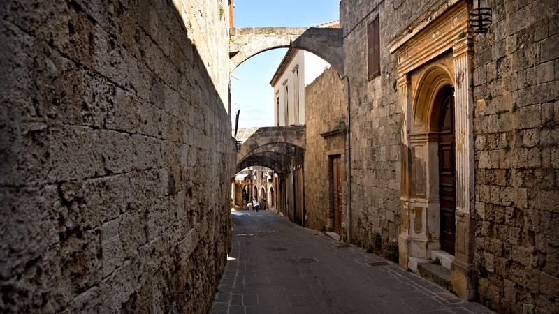 Η παλιά πόλη της Ρόδου