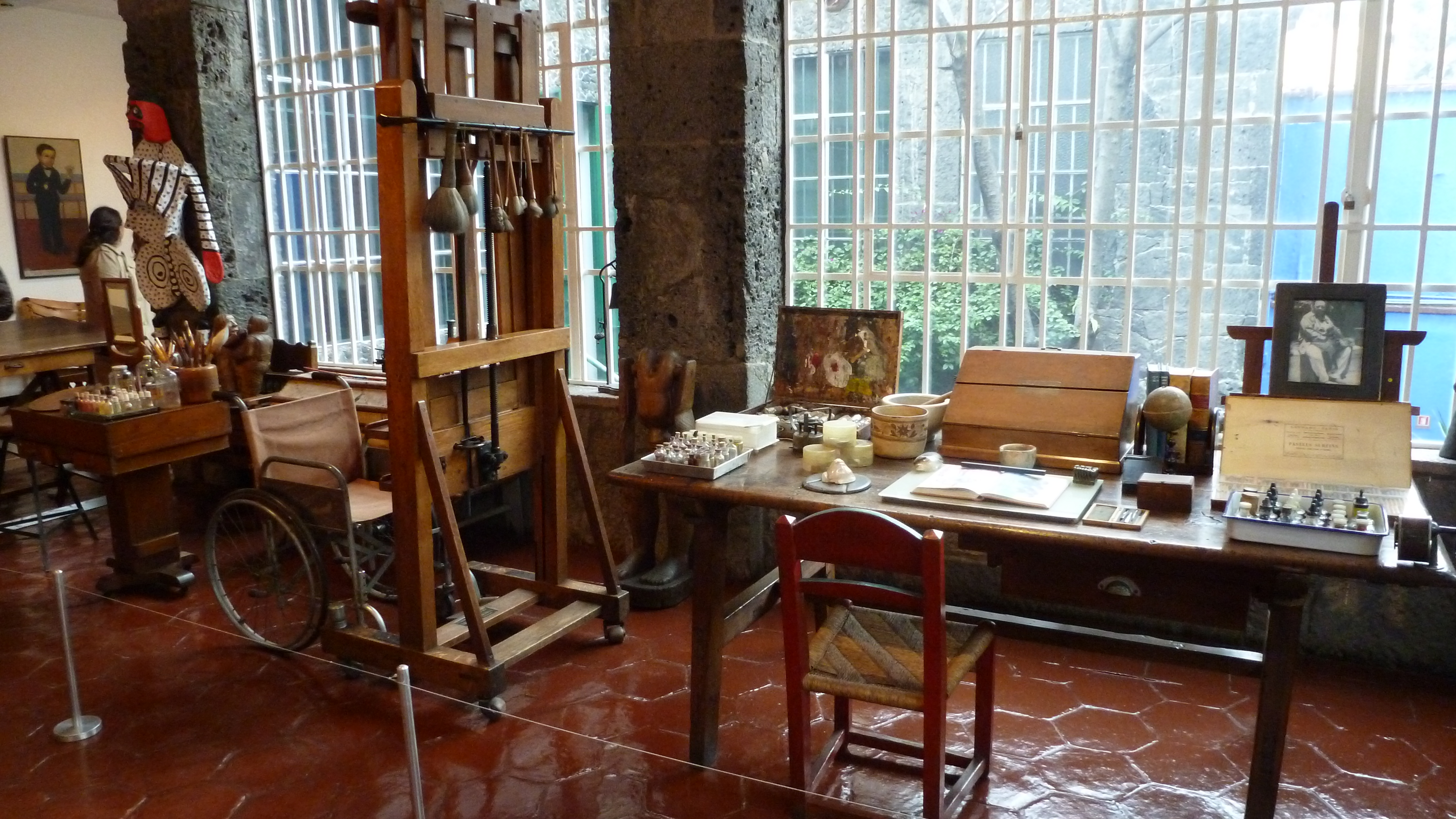Το στούντιο της Φρίντα Κάλο σήμερα στην Κάζα Αθούλ