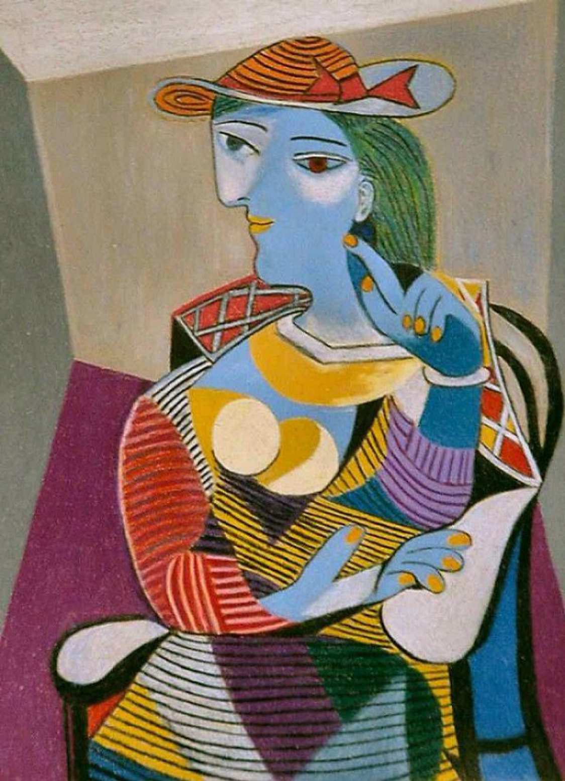 Seated Woman (Marie-Therese)