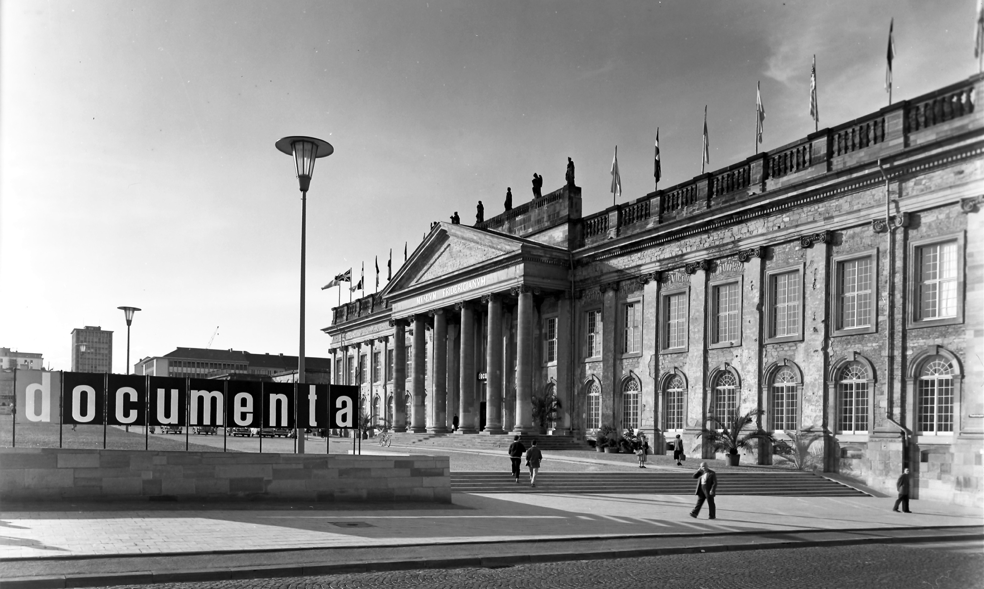 documenta 1, 1955, Artistick Director : Arnold Bode.Fridericianum Kassel. Foto: Günther Becker, documenta Archiv