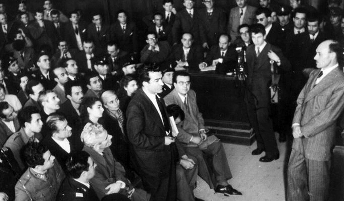 Η δίκη του Νίκου Μπελογιάννη