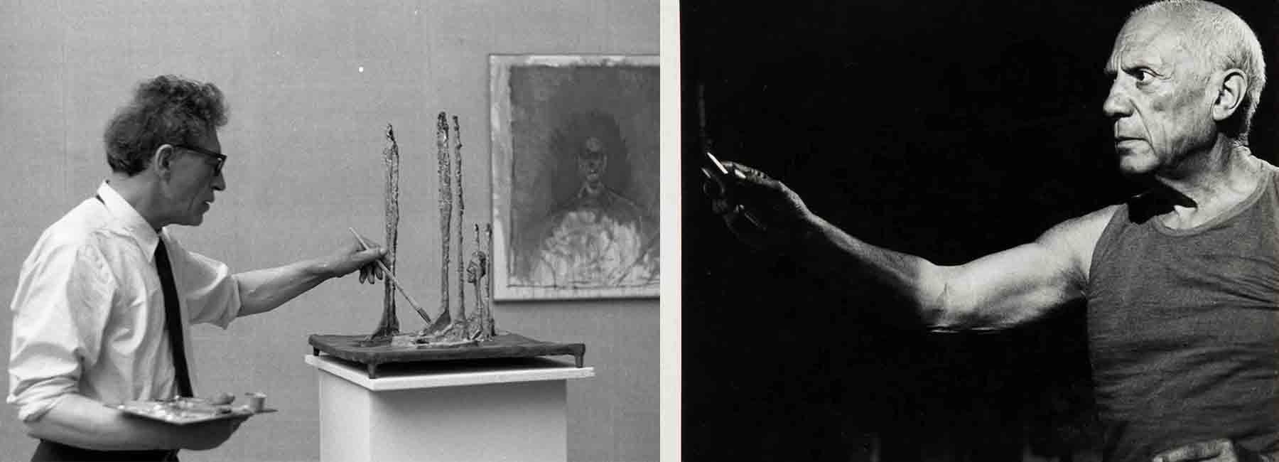 Picasso - Giacometti