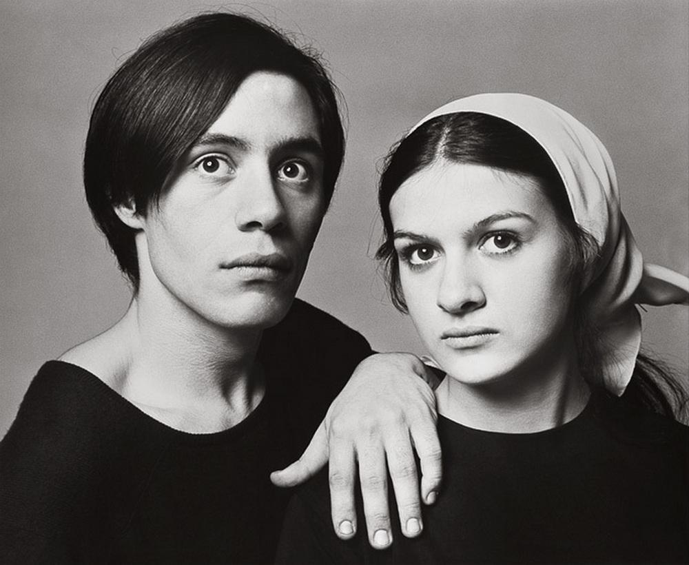 Κλοντ και Παλόμα Πικάσο από τον Richard Avedon, 1966