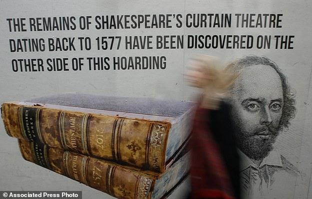 Shakespeare's Curtain Theatre in Shoreditch in London