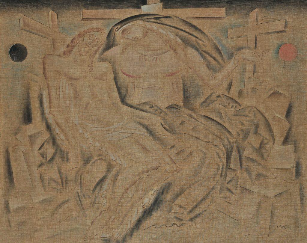 Κωνσταντίνος Παρθένης (1878/1879-1967) Pietà (Πιετά), 1920-1930 Λάδι σε καμβά, 128 x 169 εκ. Δωρεά Σοφίας Παρθένη αρ. έργου 6467 Εθνική Πινακοθήκη – Μουσείο Αλεξάνδρου Σούτζου