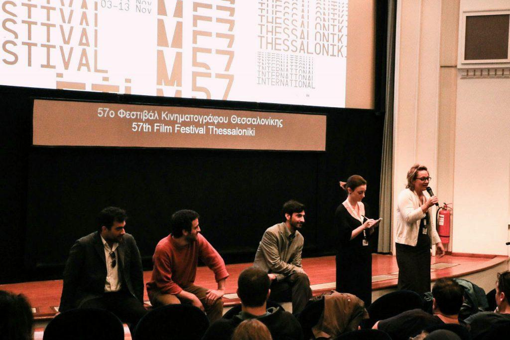 Συζήτηση του κοινού με τους συνετελεστές της ταινίας «Μία όμορφη μέρα»