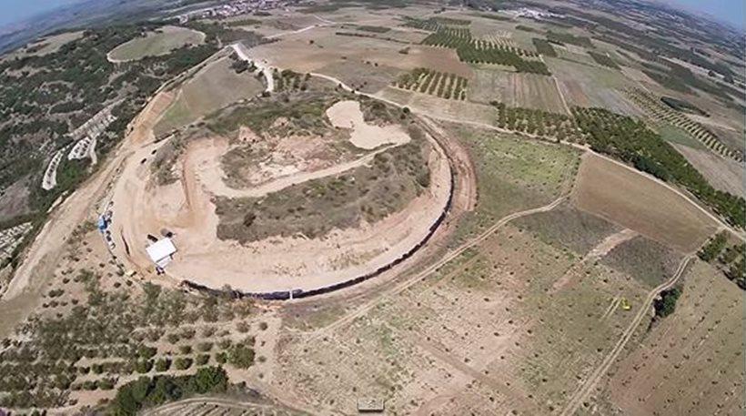 Λόφος Καστά, Αμφίπολη