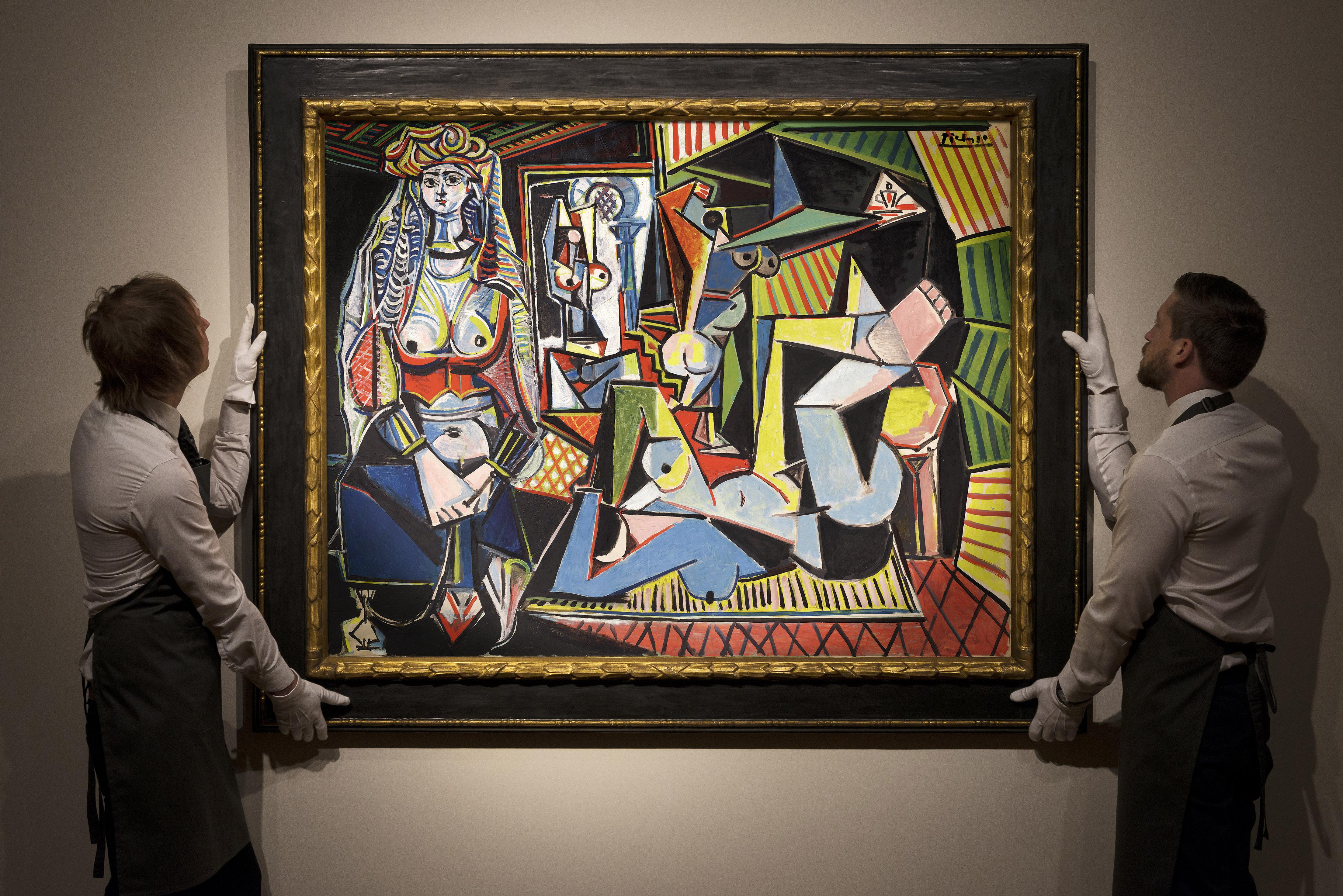"""Τον Μάιο του 2015 δημοπρατήθηκε από τον οίκο Κρίστις για 179.36 εκ. δολάρια το έργο του 1955 Les femmes d'Alger (Version """"O""""). Είναι ένας από τους πιο ακριβούς πίνακες στον κόσμο."""