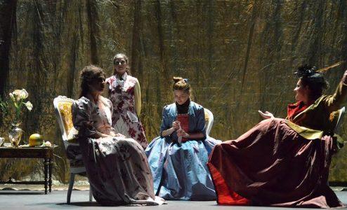 «Μαρκησία Ντε Σαντ» στο Θέατρο Αργώ
