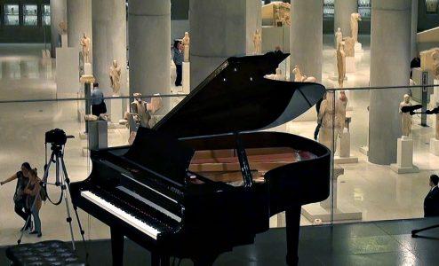 Ρεσιτάλ πιάνου στο Μουσείο Ακρόπολης