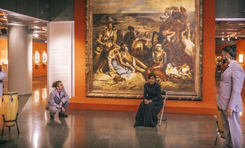 «Σκηνοθετώντας τον Ντελακρουά» στο Τελλόγλειο Ίδρυμα Τεχνών Α.Π.Θ.