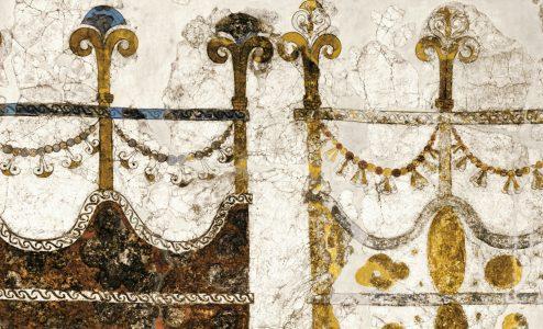 Εικόνες από τα άγνωστα αριστουργήματα της Προϊστορικής Θήρας Χρίστος Ντούμας