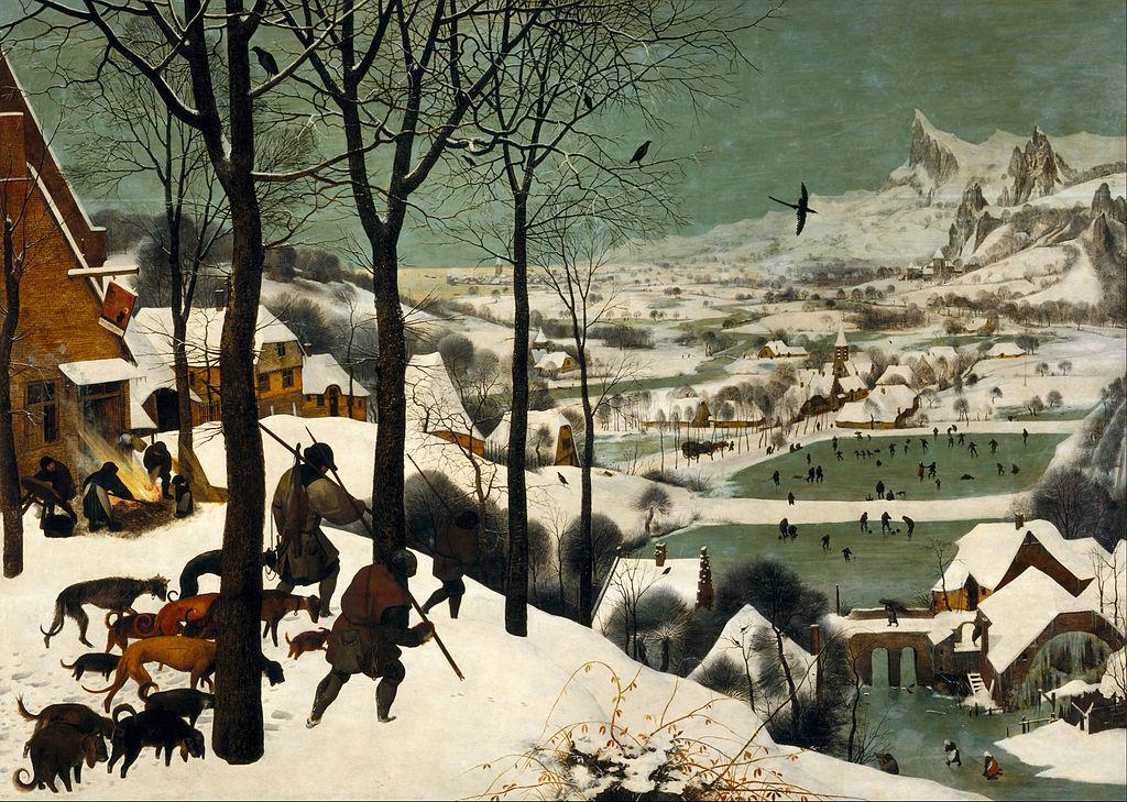 Hunters in the Snow by Pieter Bruegel the Elder (1565)
