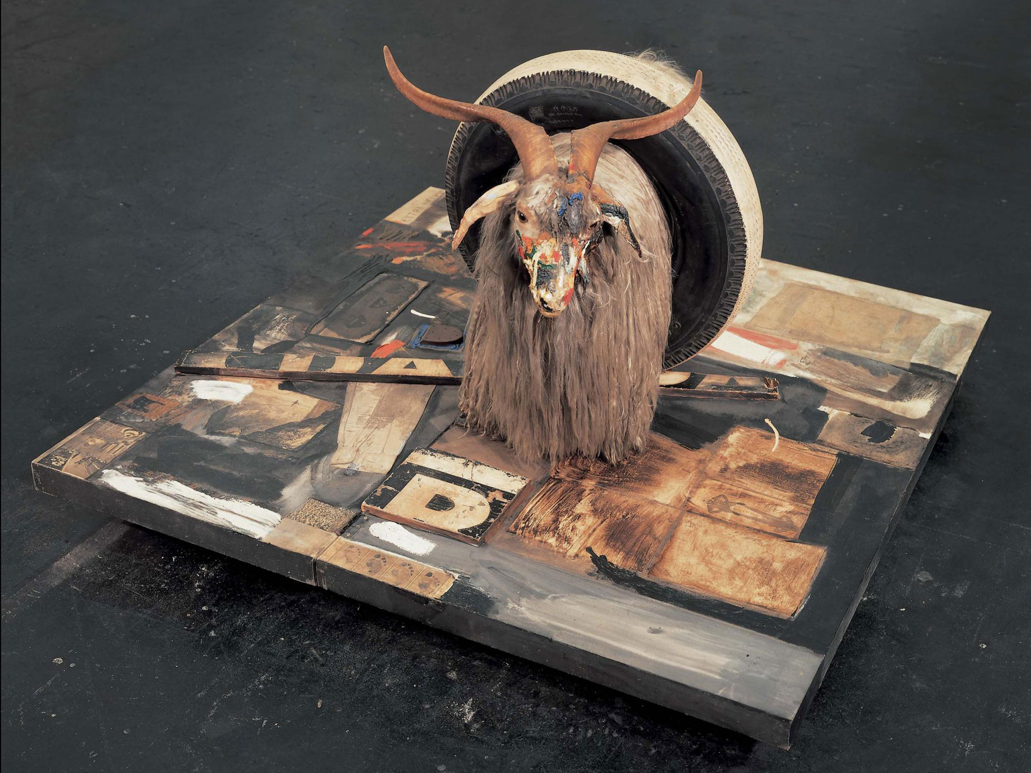 'Monogram' forms part of the Robert Rauschenberg exhibition, opening in December 2015 Tate