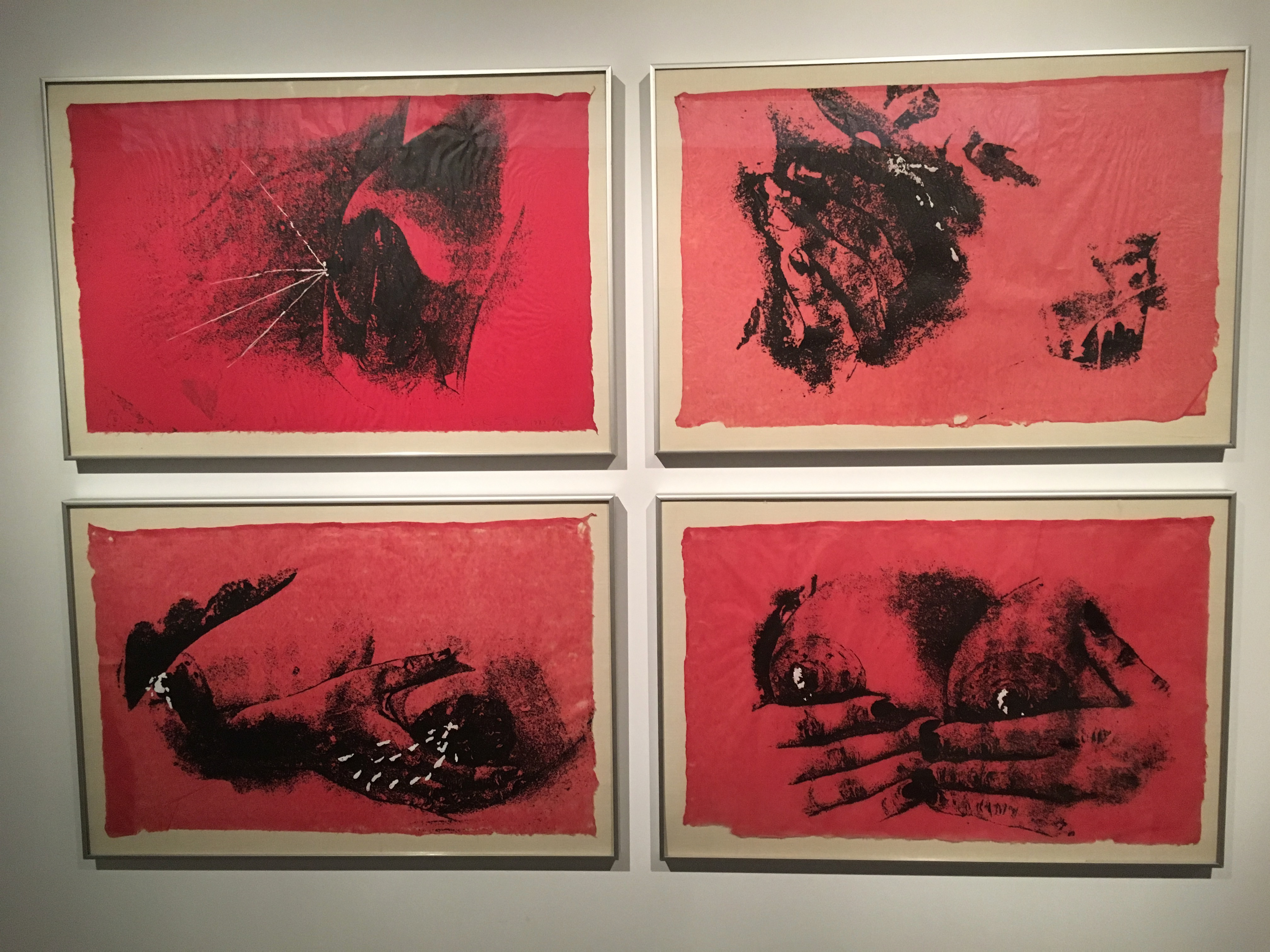 Kiki Smith Untitled (Pink Bosoms) 1990-92