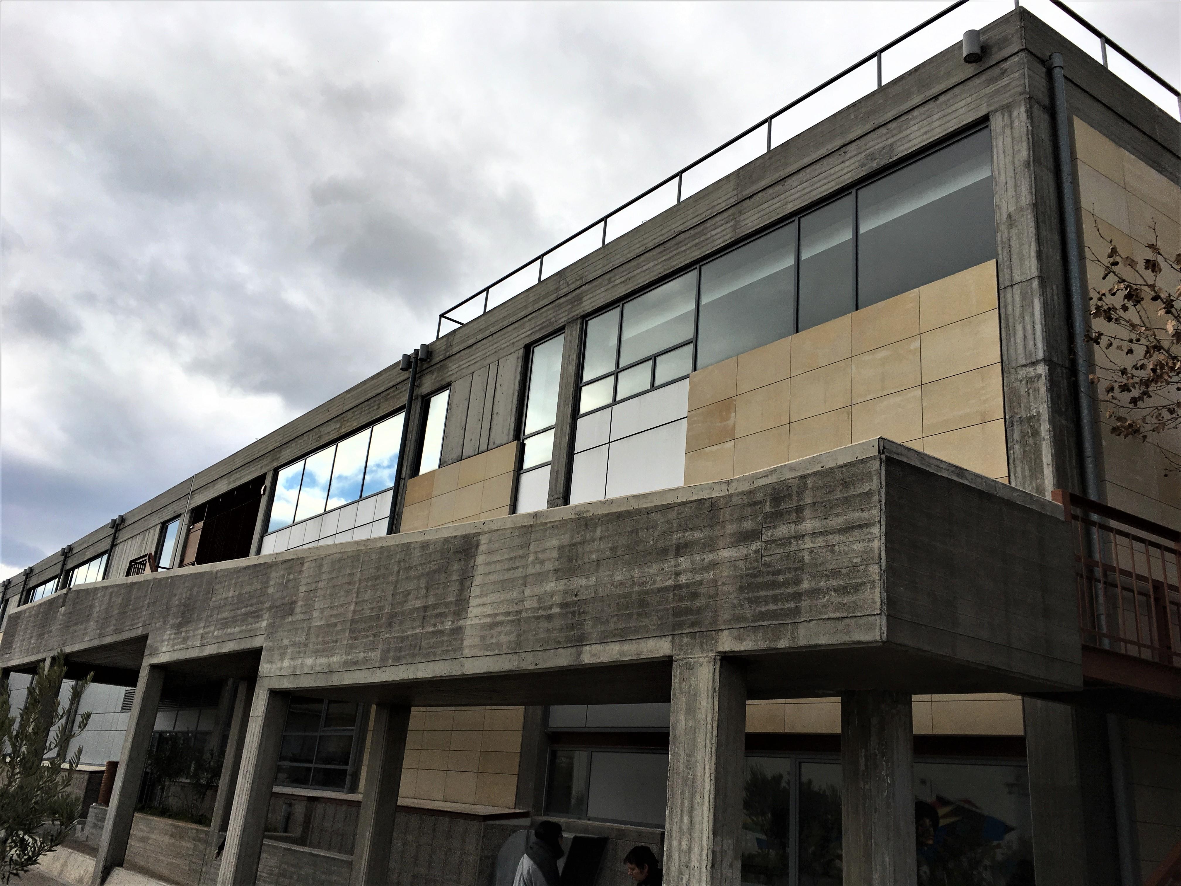 Η όψη της νέας Βιβλιοθήκης όπως σχεδιάστηκε από τους αρχιτέκτονες Σουζάνα και Δημήτρη Αντωνακάκη