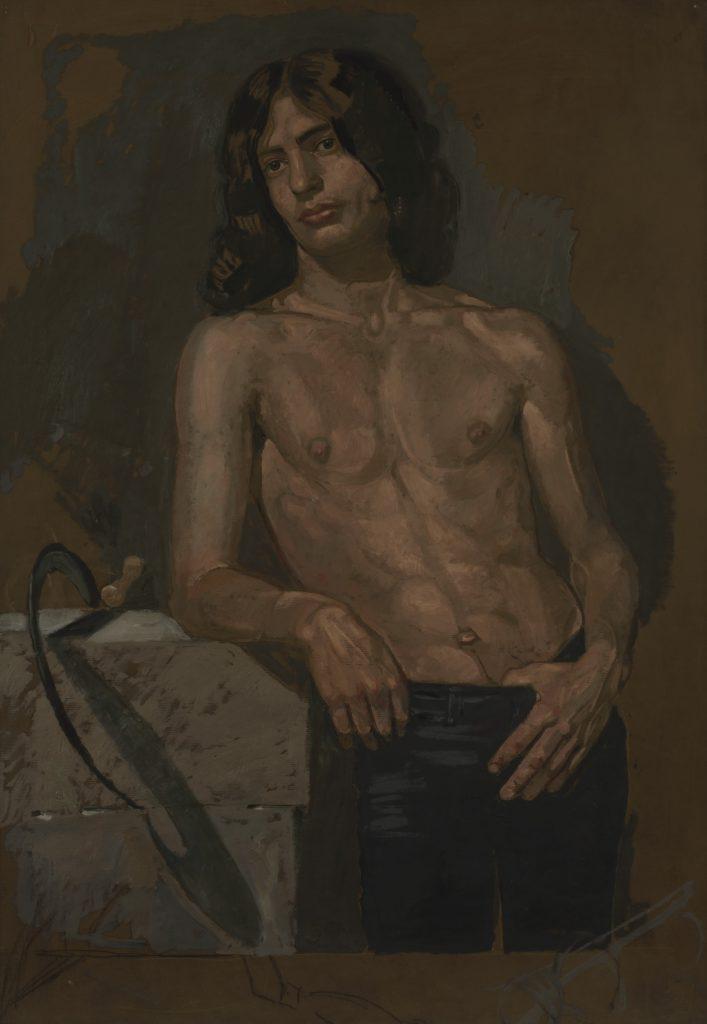 Ο Alain ως «Καλοκαίρι», 1976
