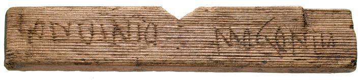Τα σπάνια ρωμαϊκά χειρόγραφα Βρέθηκαν στο Ρωμαϊκό Λονδίνο και είναι πινακίδες με επίστρωση κεριού. Θεωρούνται μερικά από τα αρχαιότερα χειρόγραφα που έχουν βρεθεί ποτέ από αυτή την περίοδο.