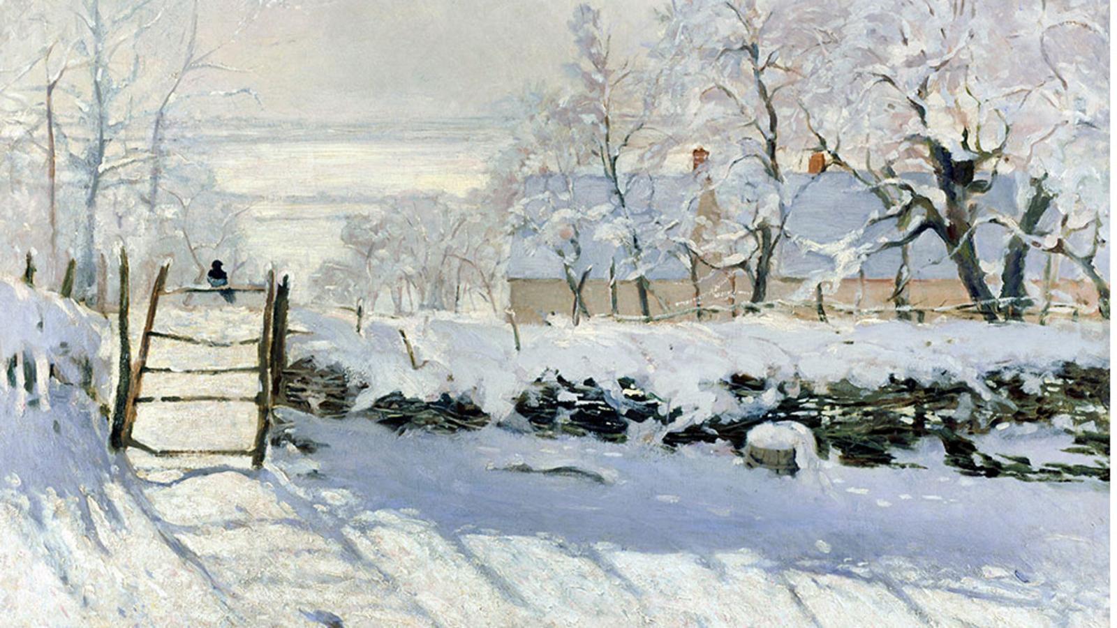 The Magpie, Claude Monet (1868-69)